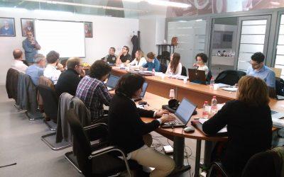 Primeira reunião geral do SOIL TAKE CARE em Cartagena (Espanha)