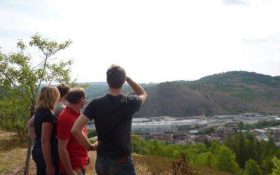 Estudo socioeconómico da contaminação e amostragem de solos em Viviez (França)