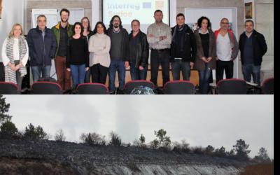 Reunión técnica en Arouca y visita a la zona de estudio de Estarreja (Portugal)