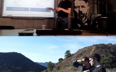 Reunión técnica y salida a campo en Cartagena