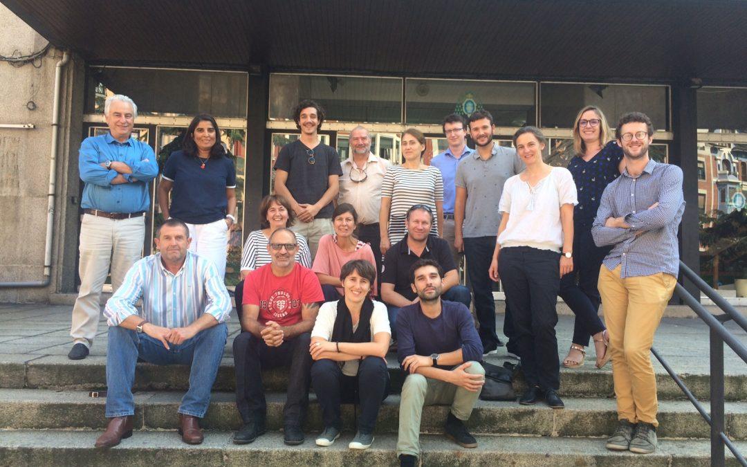 Nova reunião de todo o consórcio para a revisão dos resultados do projeto em Oviedo