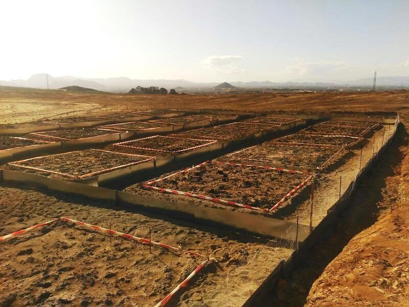 Construction des parcelles de phytostabilisation assistée dans le district minier de Cartagena-La Unión (GT4)