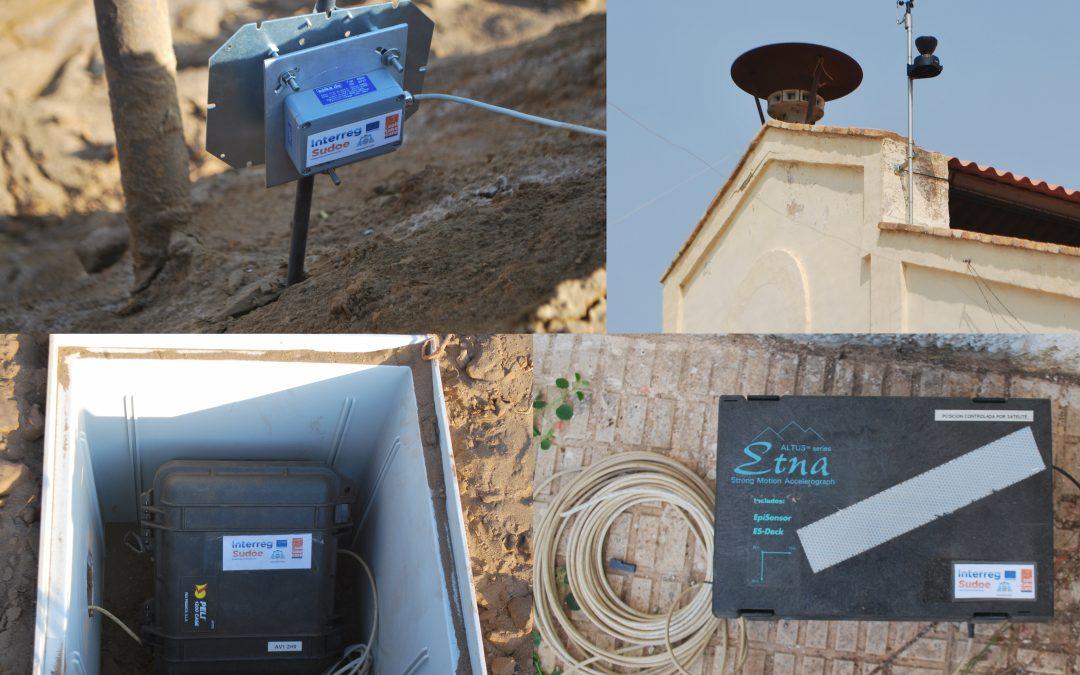 Installation d'équipement de contrôle à La Unión (La Murcie)