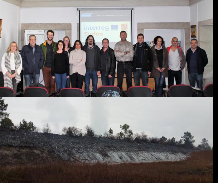 Réunion téchnique à Arouca et visite de la zone d'étude d'Estarreja (Portugal)