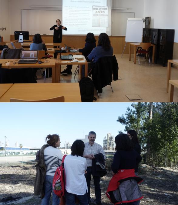 Workshop organizado por los socios en Lisboa y visita al complejo químico de Estarreja para fijar el impacto del riesgo en la población